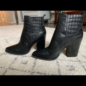 New Black Marc Fisher Boot